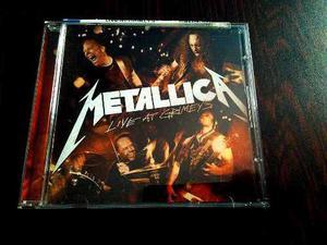 Se Vende Cd De Metallica En Vivo, Live At Grimey´s