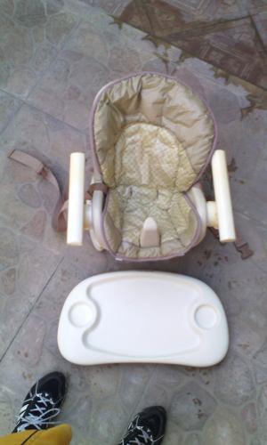 Silla Comedor Para Bebe 2 En 1, También Es Porta Bebe