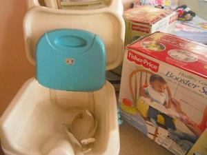 Silla De Comer Fisher Price Booster Seat.