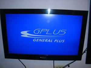 Tv Lcd 32 Gplus Con Base De Pared