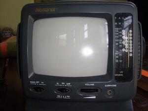 Tv Portatil 5.5 Pulgadas Blanco Y Negro Marca Memorex