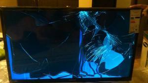 Tv Sansung Led De 32 Para Respuestos,pantalla Partida