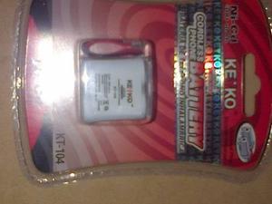 Bateria Para Telefono Inalambrico Kt-104