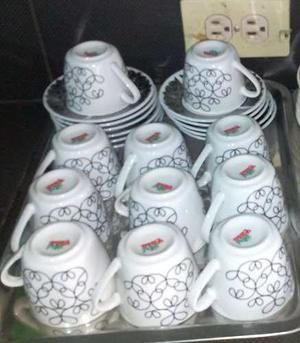 Juego De Tazas De Porcelana Pequeñas