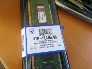 Memoria Ram Ddr3 8gb Kingston Kthpl316e/8g,  Mhz