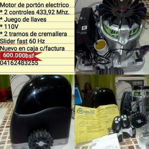 Motor para Portón Electrico