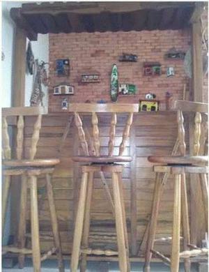 Mueble Bar De Madera Rústico