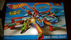 Pista Hotwheels Criss Cross Crash