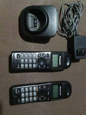 Remato Telefonos Inalambricos Panasonic Usado Sin Base
