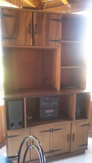 Se Vende Hermoso Mueble Multifuncional en Madera Samán