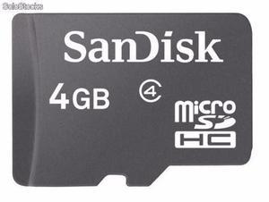 Tarjeta De Memoria Micro Sd 4gb Nueva