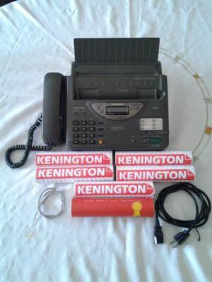 Telefono Fax Panasonic Con 1 Rollo De Papel Termico.
