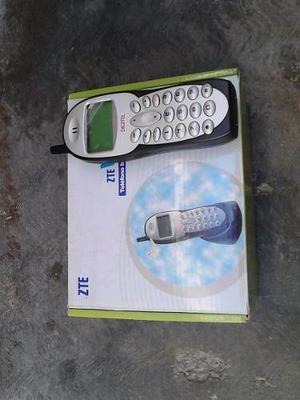 Teléfono Fijo Inalámbrico Zte Wp628 Con Pila Dañada