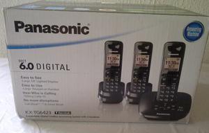Teléfono Inalámbrico Con 2 Auxiliares - Panasonic