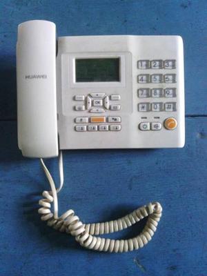 Teléfono Local Huawei Inalámbrico,bueno Saldo Ilimitado