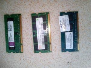 Vendo O Cambio Memorias Ddr2 Para Lapto