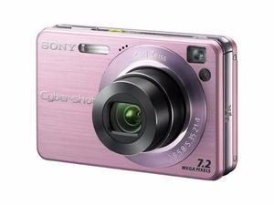 Video Cámara Sony Cyber Shot 7.2 Mega Pixels Dscw120 Rosada
