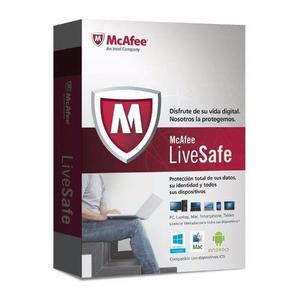 Antivirus Mcafee Live Safe