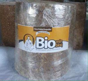 Biobloque De Minerales Para Ganado,equino,aves Y Cerdo