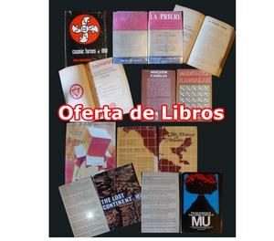 SE VENDEN LIBROS ESOTERICOS EN IDIOMA INGLES Y FRANCES