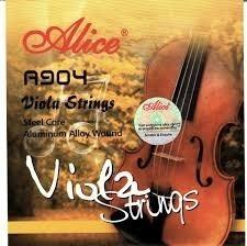 Set De Cuerdas De Viola Alice A904