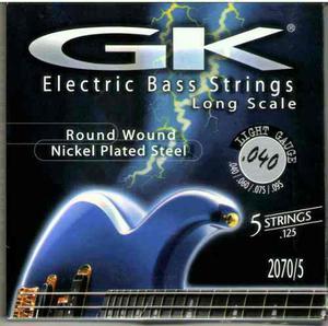 Set De Cuerdas Para Bajo Eléctrico De 5c Marca Gk