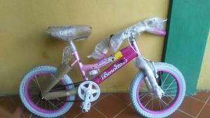 Bicicleta Para Niña Rin 13 Marca Benotto