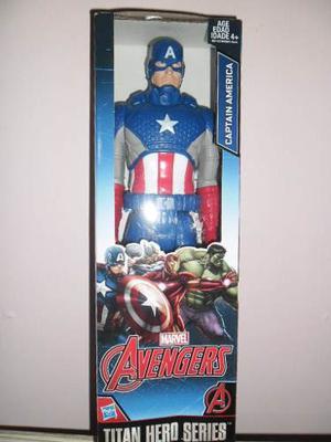 Capitan America Heroe Titan De La Serie Marvel 100% Original