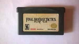 Final Fantasy Tactics Game Boy Advance Gba