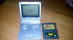 Game Boy Advance Sp Con 2 Juegos