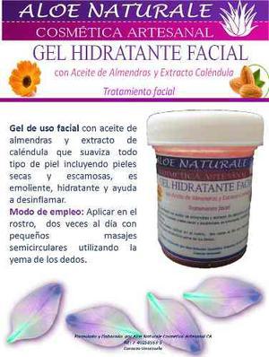 Gel Hidratante Facial De 60 Gramos