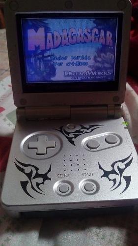 Nintendo Game Boy Advance Sp+ 2 Cintas Adicionales