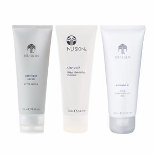Nuskin Oferta Exfoliante, Clay Pack, Enhancer Nu Skin Face