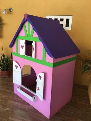 Vendo Hermosa Casa De Madera, Poco Uso.