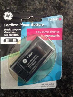Batería Para Teléfono Inalámbrico Tlv Recargable