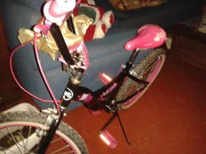 Bisiclesta Niña De Barbie Rim 20 Poco Uso