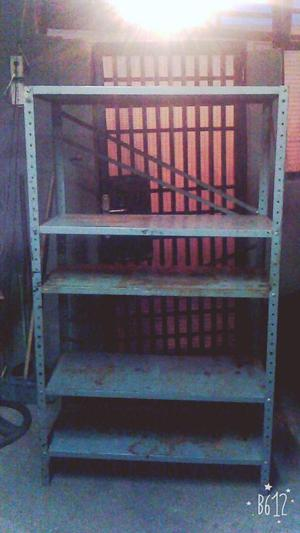Compro estantes de metal lara estante de posot class - Estantes de metal ...