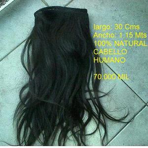 Extensiones de Cabello 100 NATURAL