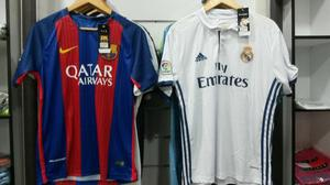 Franelas Real Madrid Y Barcelona