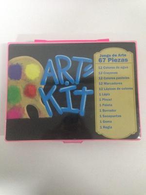Kit De Arte Para Niños Y Niñas Con Colores, Pinturas Y Mas