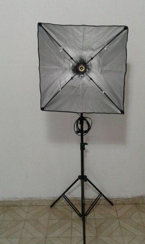 Lampara Para Fotografia Y Video Softbox Con Paral