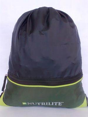 Tula Nutrilite Nylon Negro/verde