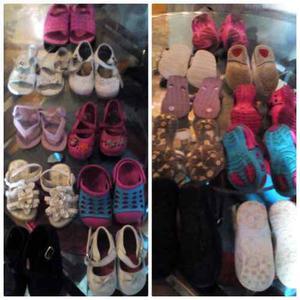 Zapatos De Niña Usados, Remate
