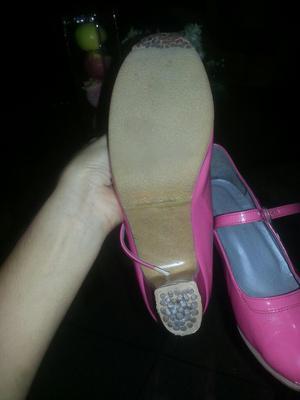 Zapatos de Flamenco Casi Nuevos
