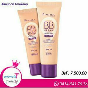 Bases BB cream 9 en 1 RIMMEL