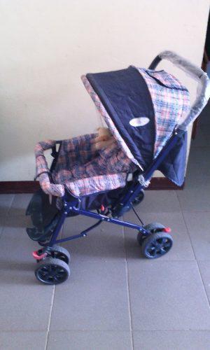 Coche Azul Marca Gama Baby Unico Detalle El Posapie Partido
