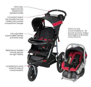 Coche Baby Trend Expedition Jogger Travel System