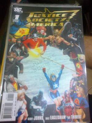 Comic Justice Society America 1 Dc Original En Inglés