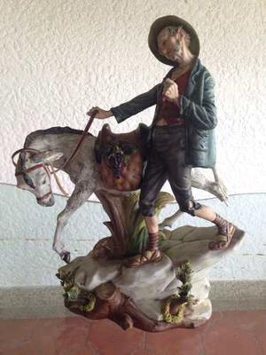 Adorno Capo Di Monte Don Quijote Caballo