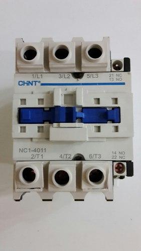 Contactor Chnt. Mod. Nc1-40. Bobina En 220 Volt. Hasta 40 Hp